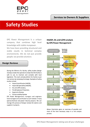 Service Brochure - Safety Study